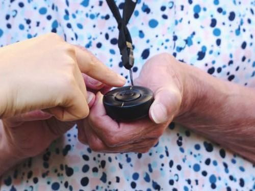 Mobila trygghetslarm MiniFinder Nano GPS tracker