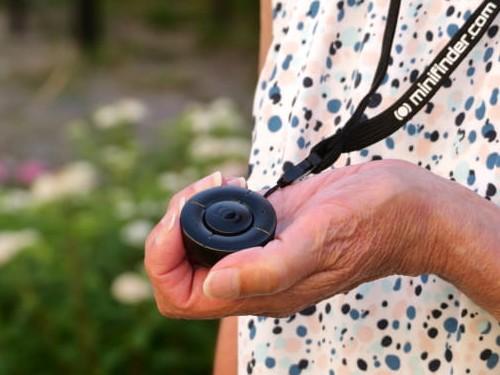 MiniFinder Nano trygghetslarm för äldre